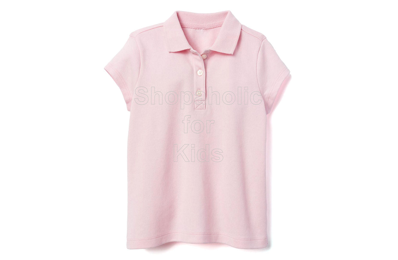 Gymboree Pique Polo for Girls Pink - Shopaholic for Kids