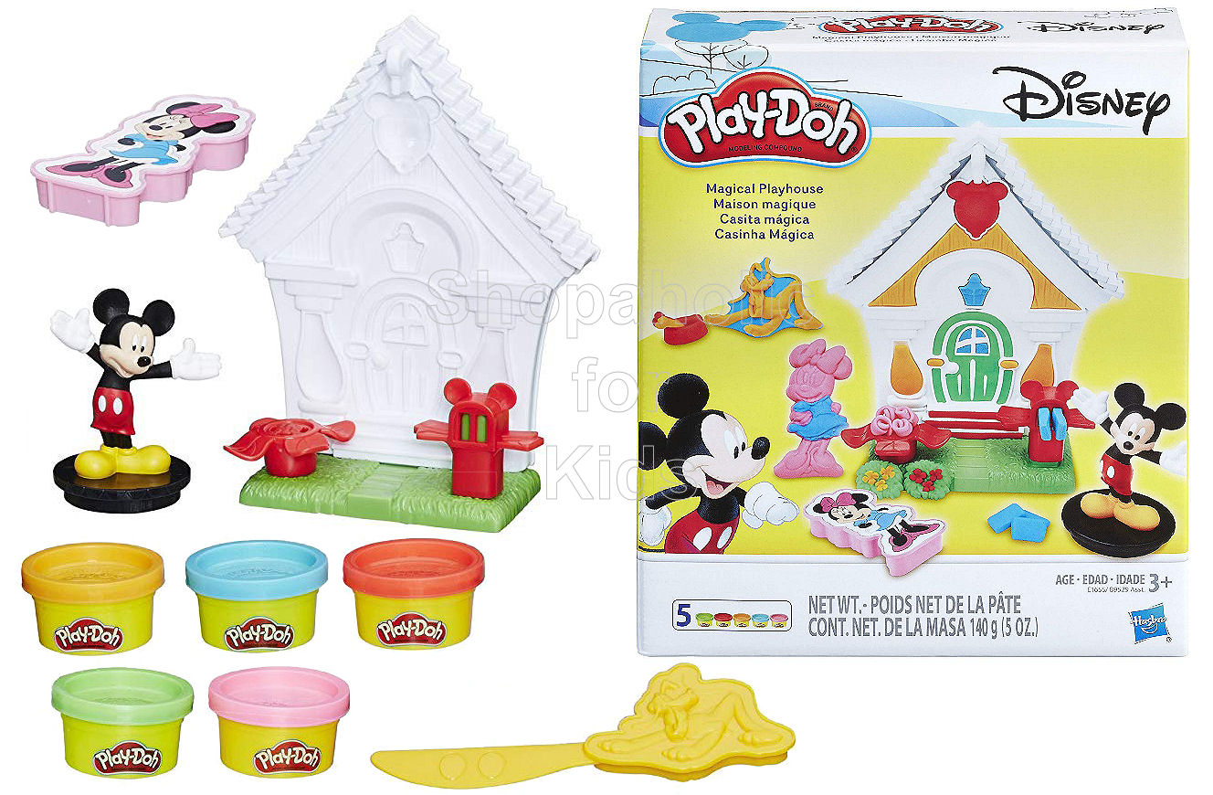 Play-Doh Disney Mickey Mouse Magical Playhouse - Shopaholic for Kids