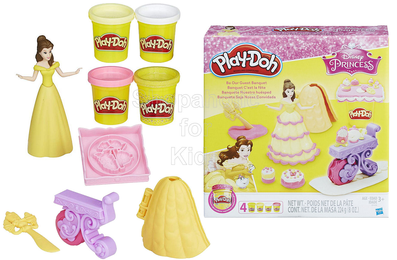 Play-Doh Disney Princess Belle Be Our Guest Banquet - Shopaholic for Kids