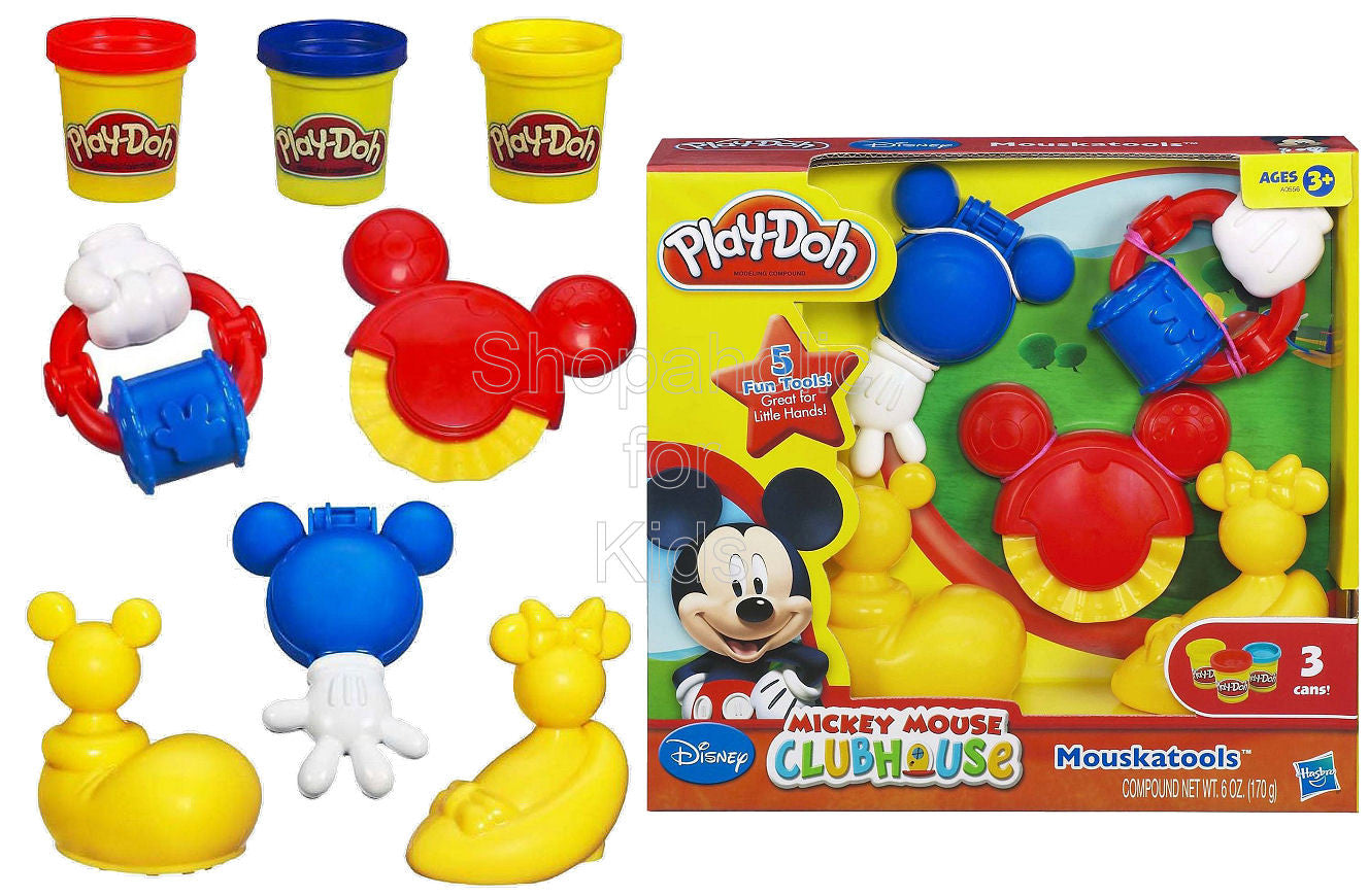 Play-Doh Mickey Mouse Clubhouse Mouskatools Playset