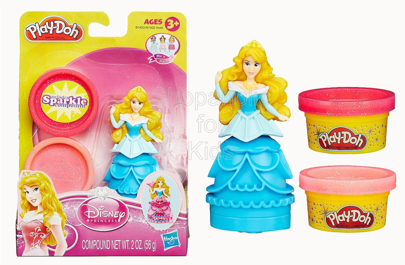 Play-Doh Mix 'n Match Figure Featuring Disney Princess Aurora - Shopaholic for Kids