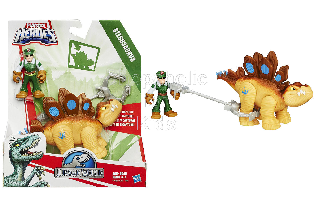 Playskool Heroes Jurassic World Tracker Stegosaurus Figure - Shopaholic for Kids