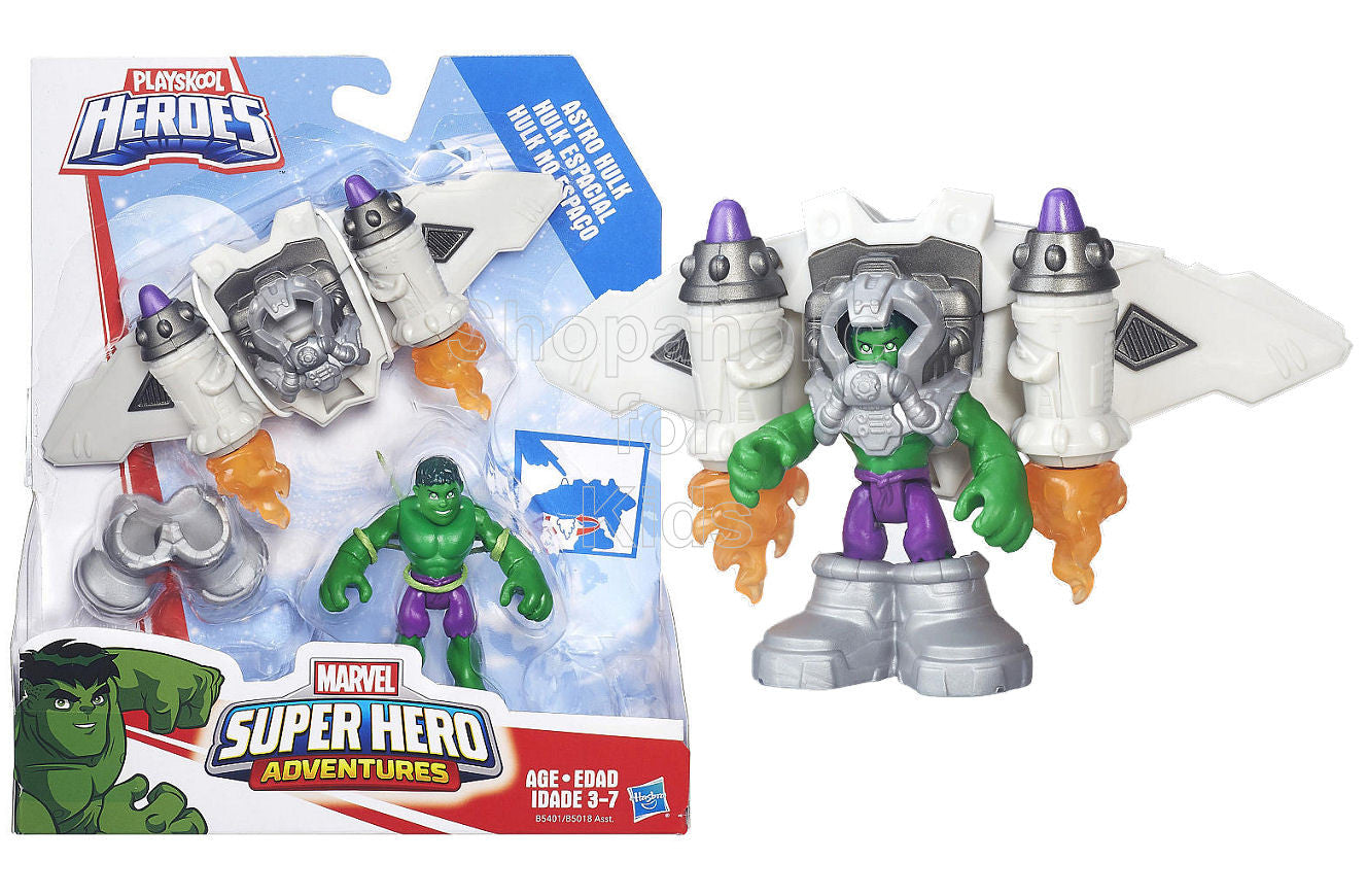Playskool Heroes Super Hero Adventures Astro Hulk - Shopaholic for Kids
