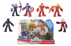 Playskool Heroes Marvel Super Hero Adventures Captain America Super Jungle Squad