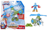 Playskool Heroes Super Hero Adventures Jungle Copter Captain America - Shopaholic for Kids