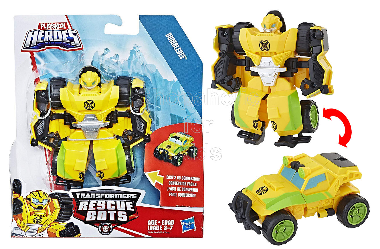Playskool Heroes Transformers Rescue Bots - Bumblebee (Off Road Vehicle)