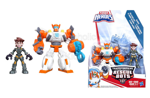Playskool Heroes Transformers Rescue Bots Blades the Flight-Bot and Dani Burns Figure Pack - Set 2