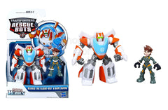 Playskool Heroes Transformers Rescue Bots Blades the Flight-Bot and Dani Burns Figure Pack - Set 1