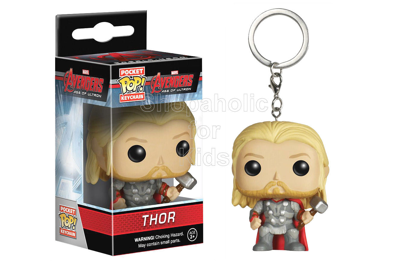 Funko Pocket POP Keychain: Marvel - Thor Action Figure