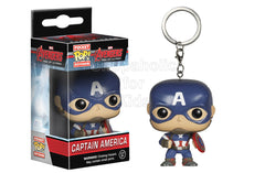 Funko Pocket POP Keychain: Marvel - Captain America