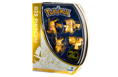 Pokemon 20th Anniversary Pikachu Figure 4 Pack (Set B)