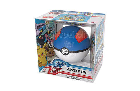 Pokemon XY Collectors PokeBall and Puzzle Tin