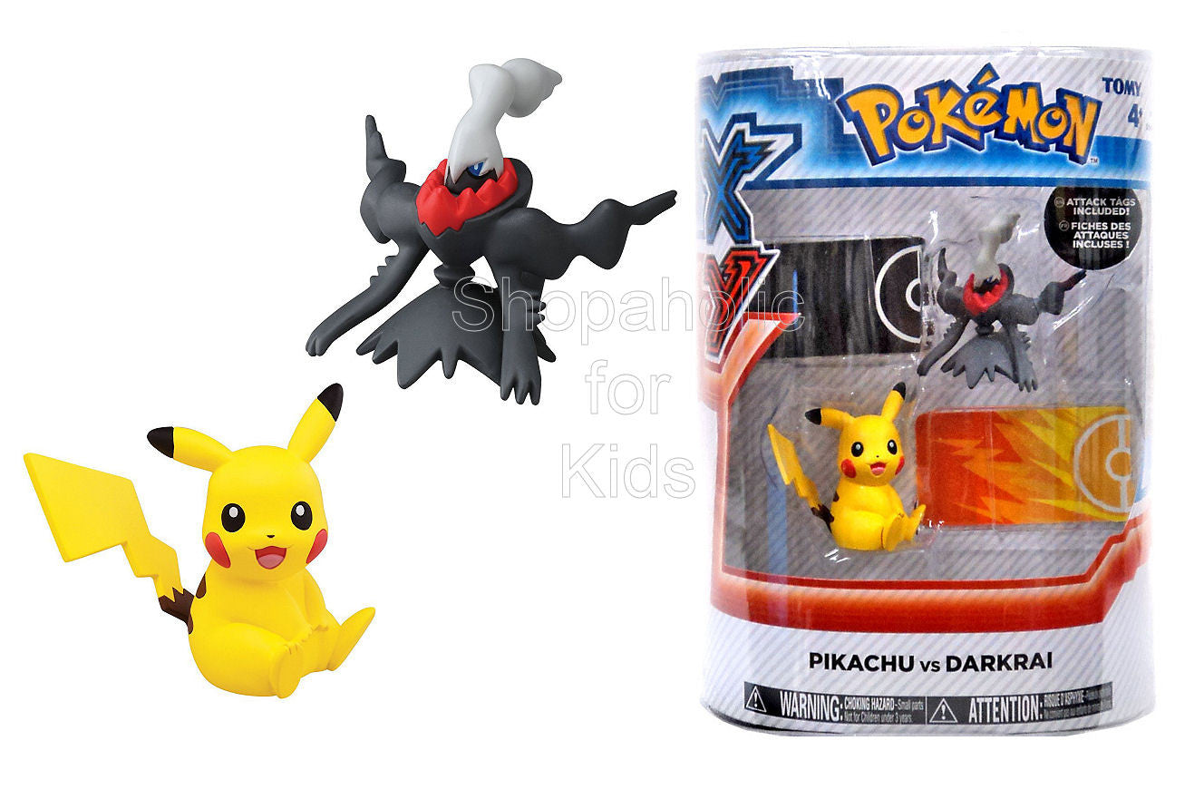 Pokemon X & Y Pikachu vs Darkrai Figure 2-Pack - Shopaholic for Kids