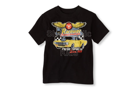 Children's Place Race Car Graphic Tee