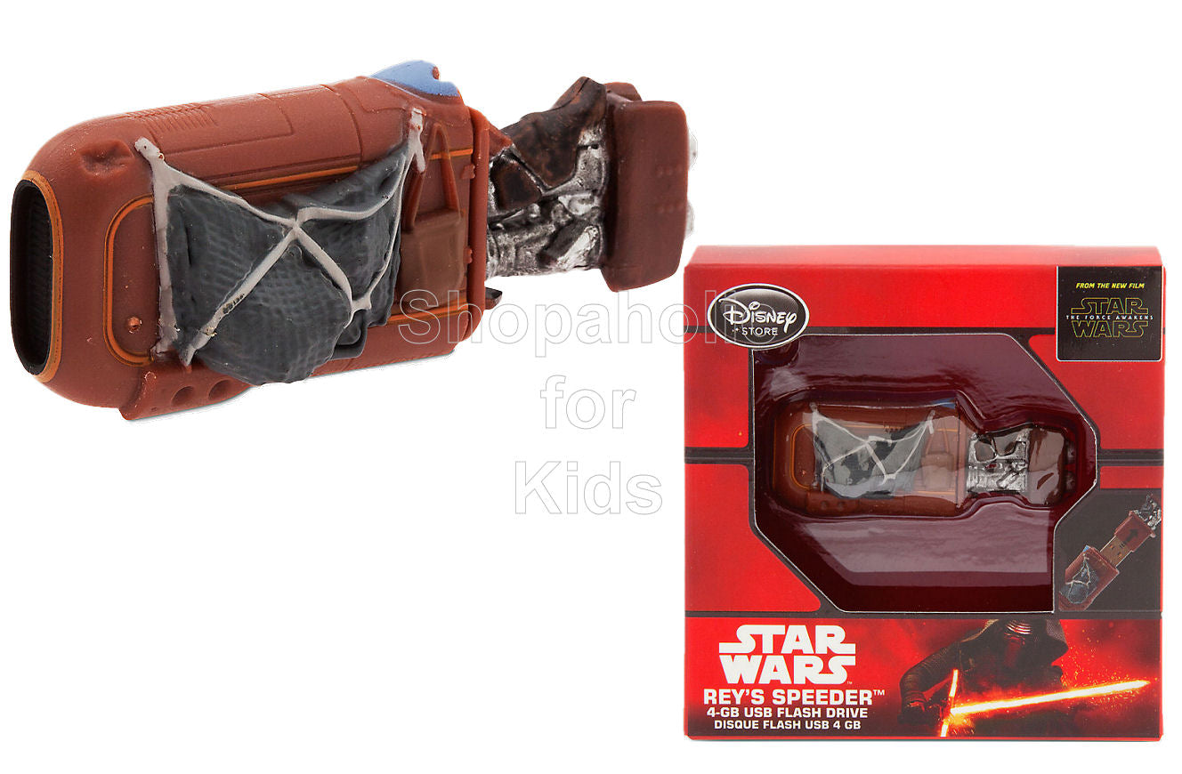 Rey's Speeder 4GB USB Flash Drive - Star Wars: The Force Awakens - Shopaholic for Kids