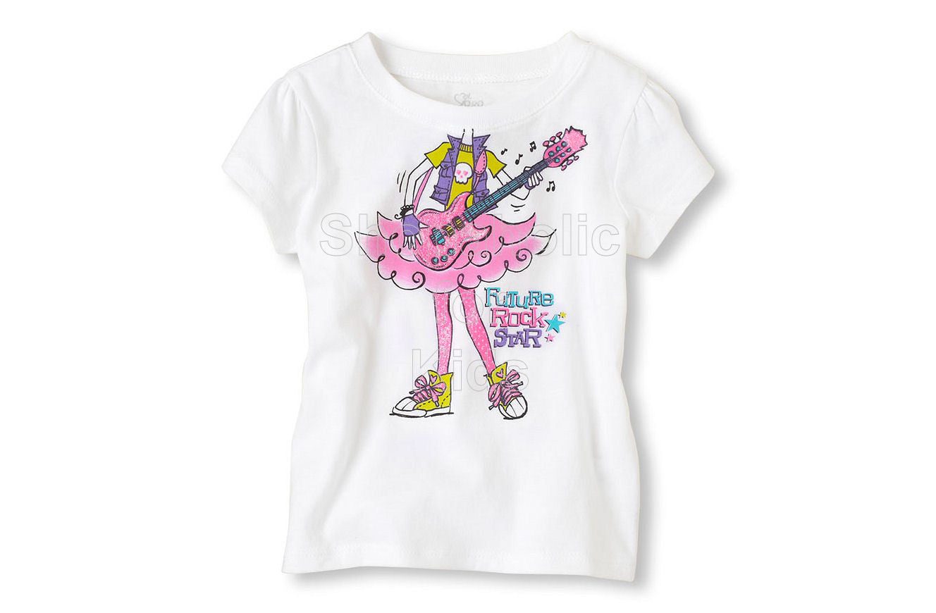 Children's Place Rock Girl Graphic Tee - Shopaholic for Kids