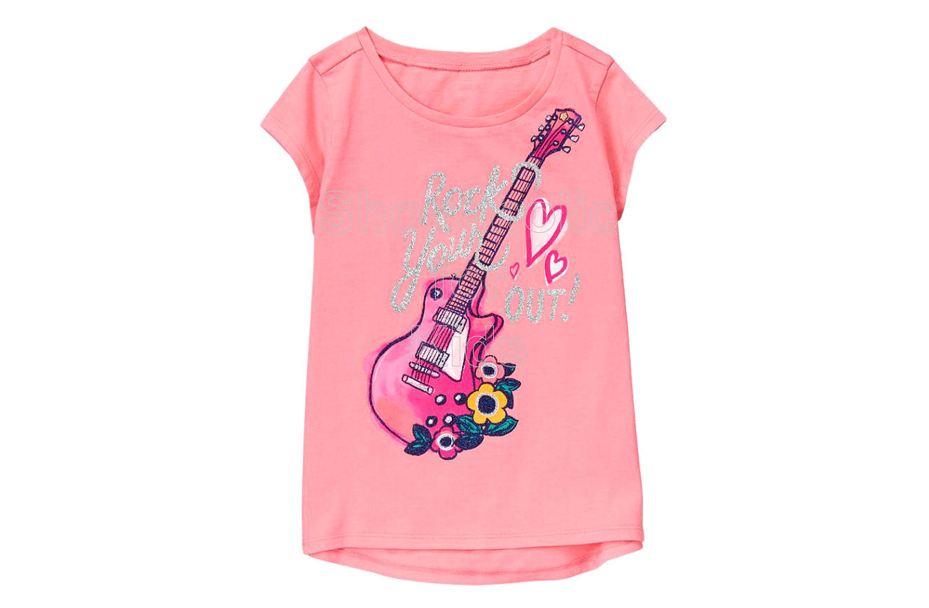 Gymboree Rock Your Heart Out Tee - Shopaholic for Kids