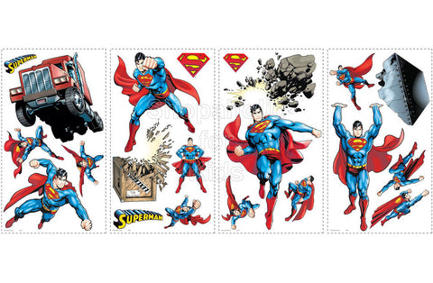 DC Comics Superman Day of Doom Peel and Stick Wall Decals