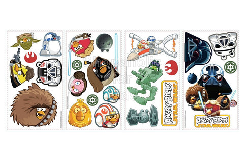 Angry Birds Star Wars Peel and Stick Wall Decals