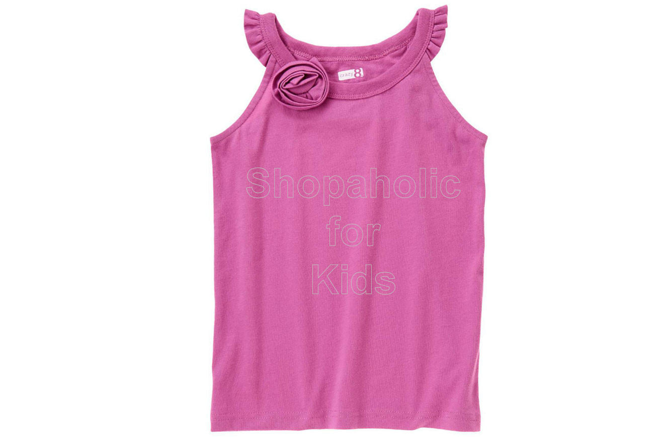 Crazy8 Rosette Tank Lilac Purple - Shopaholic for Kids