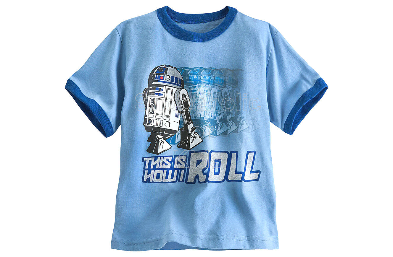 Star Wars R2-D2 Ringer Tee - Shopaholic for Kids