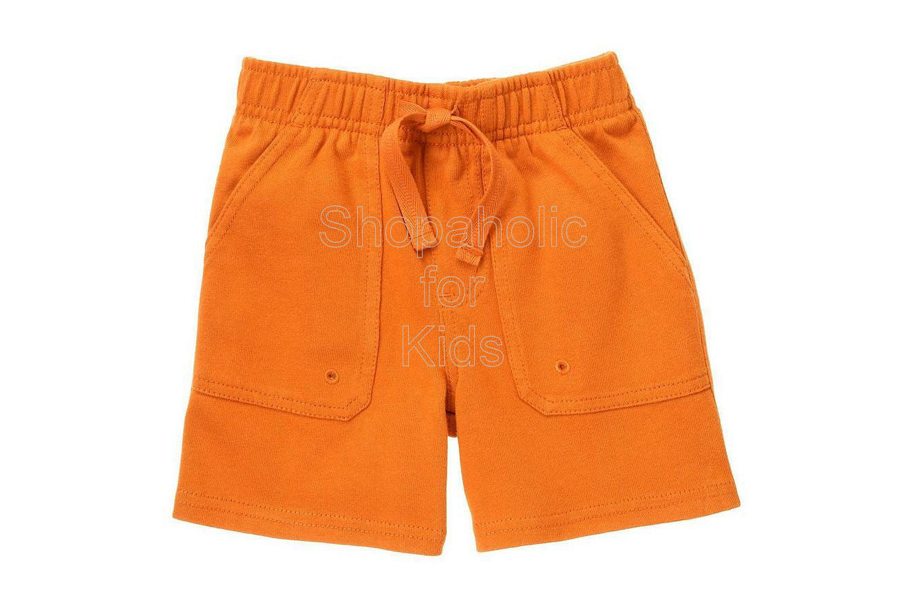 Gymboree Safari Outback Orange Knit Shorts - Shopaholic for Kids