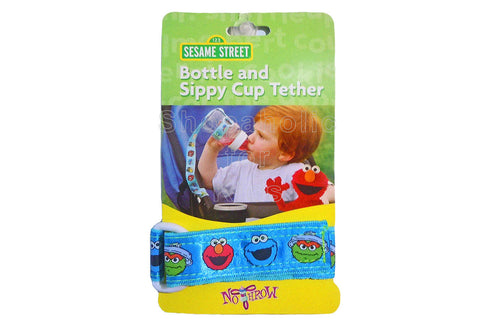 Sesame Street Tether for Bottle & Sippy Cup - Blue