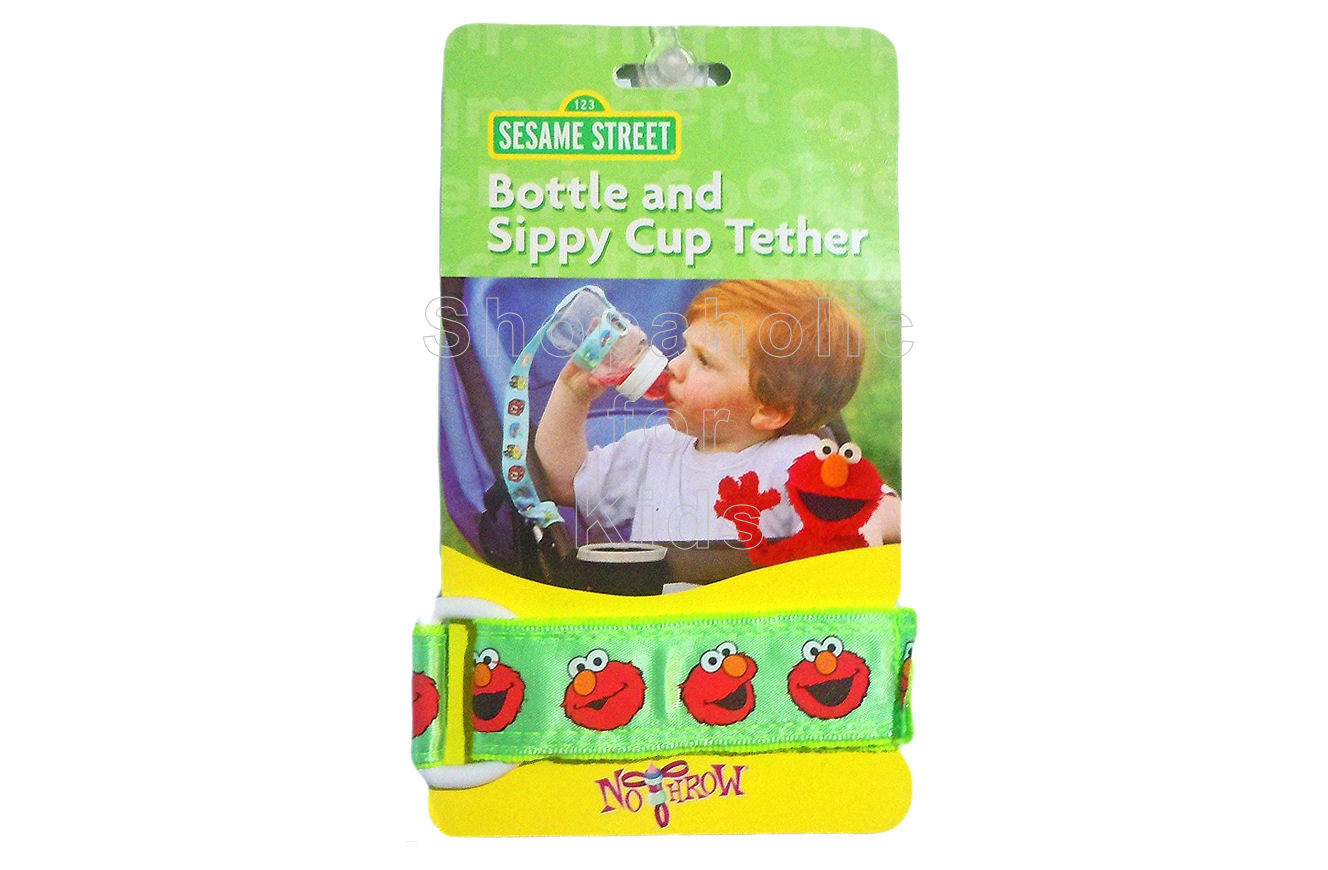 Sesame Street Tether for Bottle & Sippy Cup - Green - Shopaholic for Kids