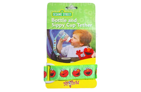 Sesame Street Tether for Bottle & Sippy Cup - Green