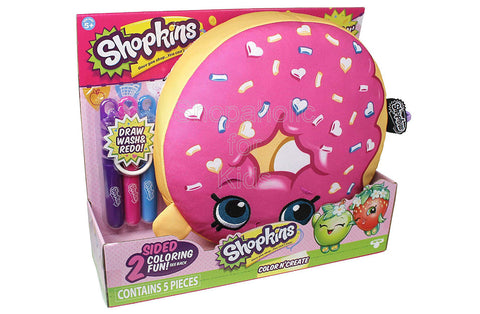 "Shopkins 10"" Color 'n Create Activity - D'Lish Donut"