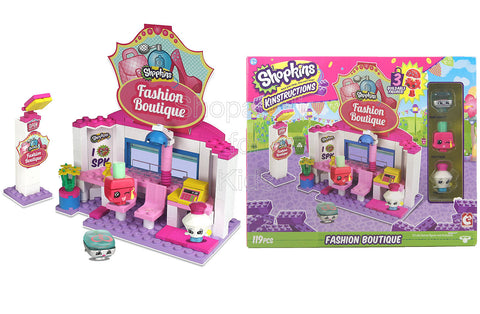 Shopkins Kinstructions Building Set - Fashion Boutique