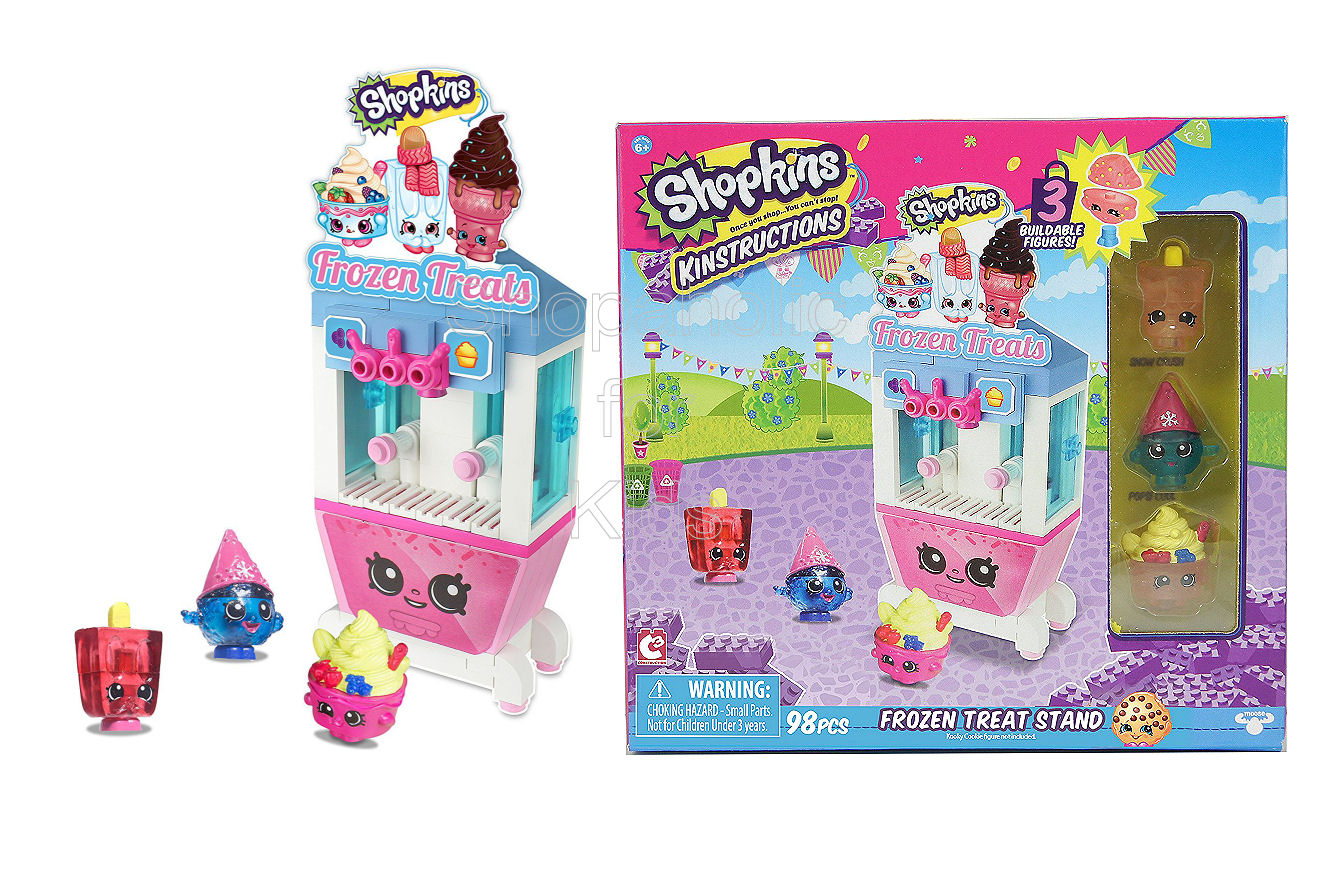 Shopkins Kinstructions Building Set - Frozen Treat Stand - SOLD OUT - Shopaholic for Kids