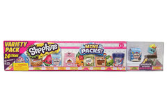 Shopkins Mini Pack - Variety Pack (24 Items) - Set B - Shopaholic for Kids
