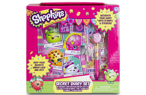 Shopkins Secret Diary Set