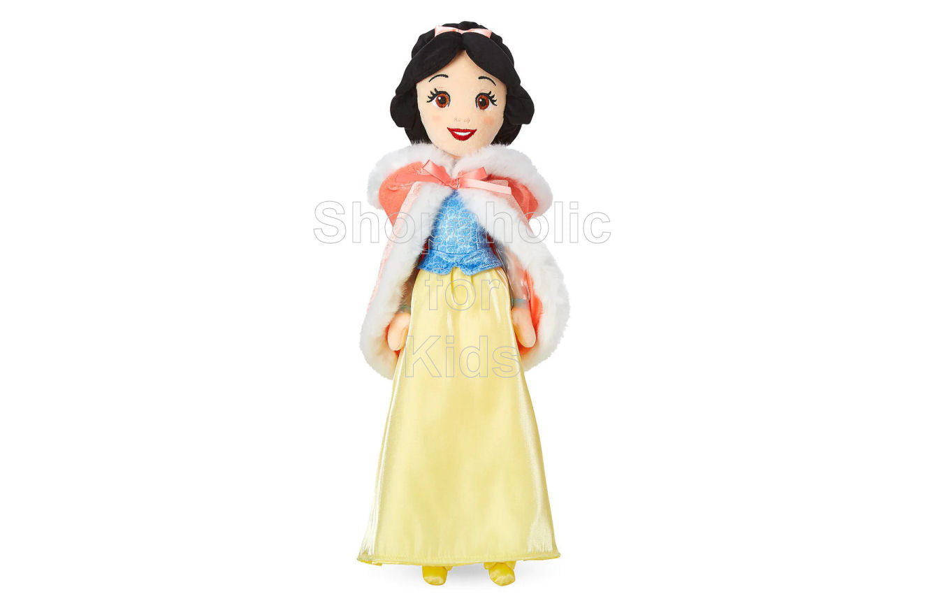 Disney Princess Snow White Plush Doll in Winter Cape - Shopaholic for Kids