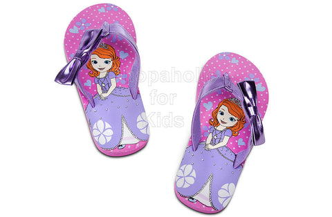 Sofia The First Flip Flops   Color: Pink