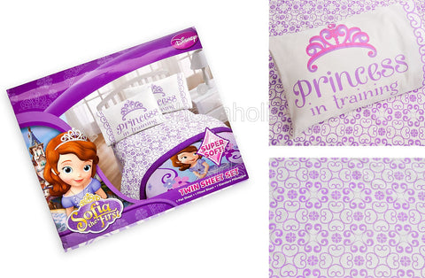 Disney Sofia Sheet Set - Twin
