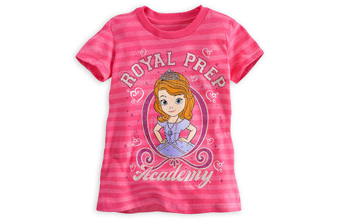 Disney Sofia Striped Tee