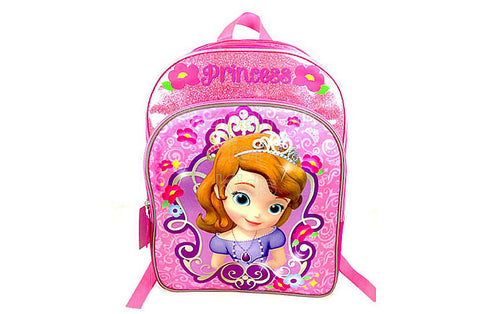 Sofia The First Pink Backpack