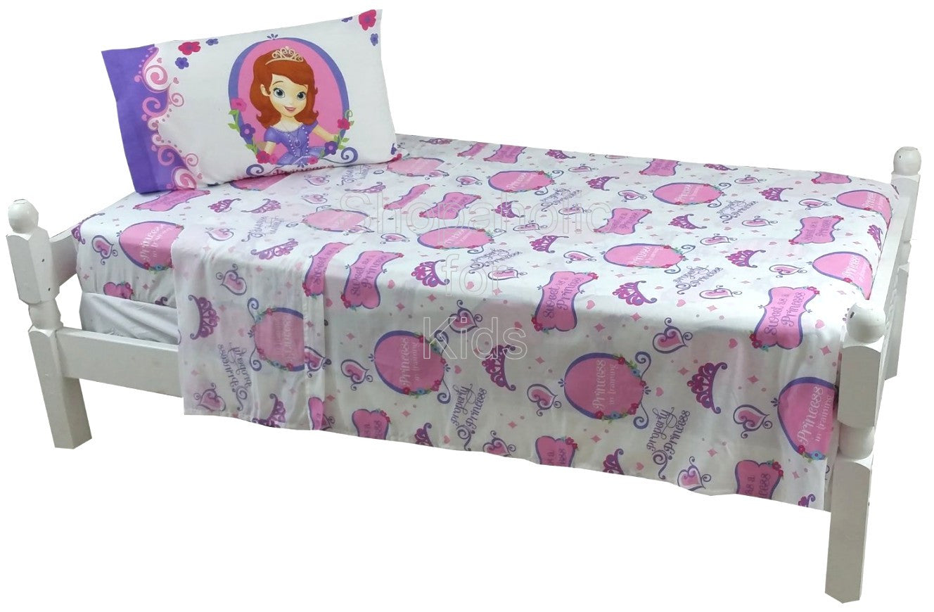 Disney Sofia the First Twin Sheet Set - Shopaholic for Kids