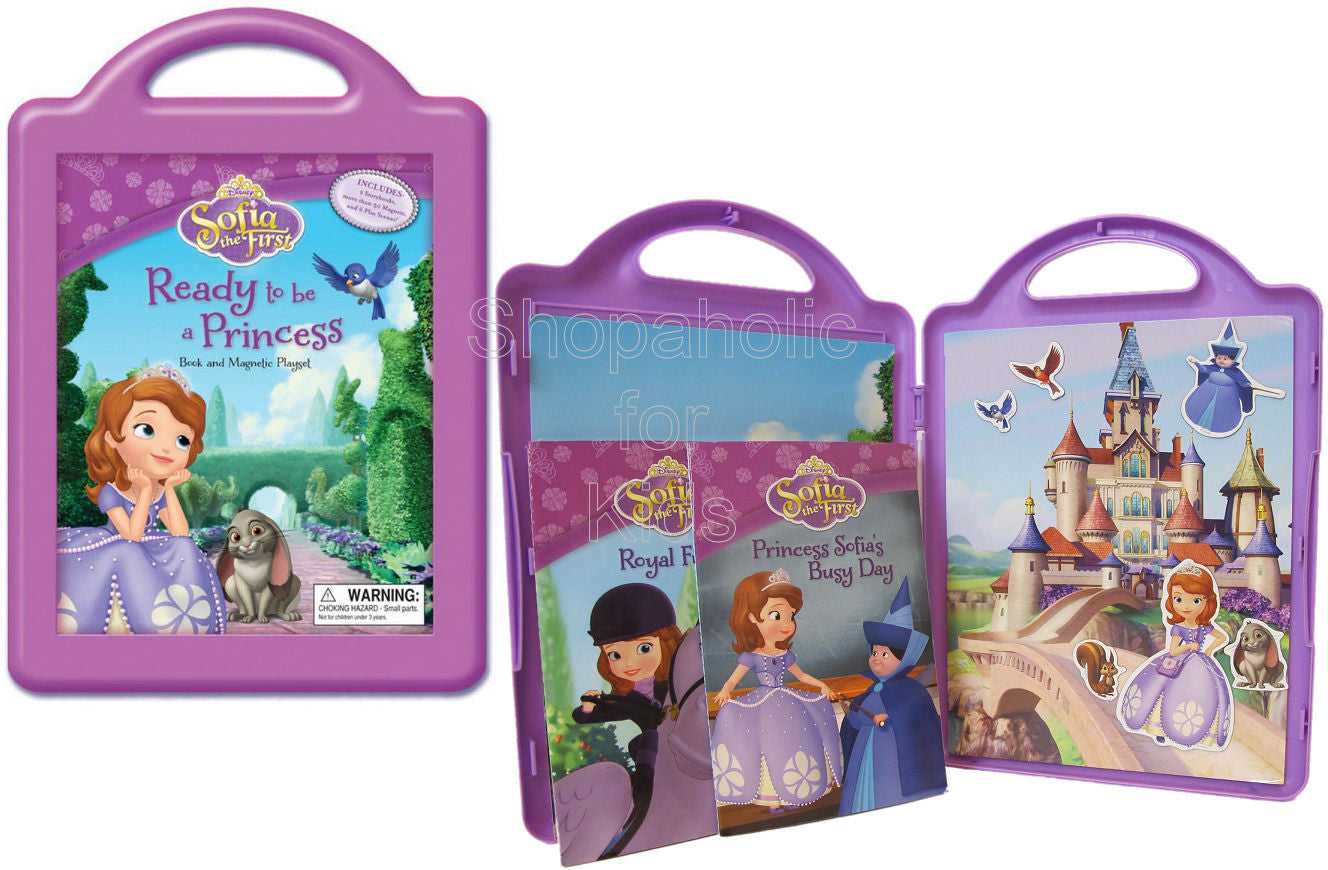 Sofia the First Ready to be a Princess: Book and Magnetic Playset - Shopaholic for Kids