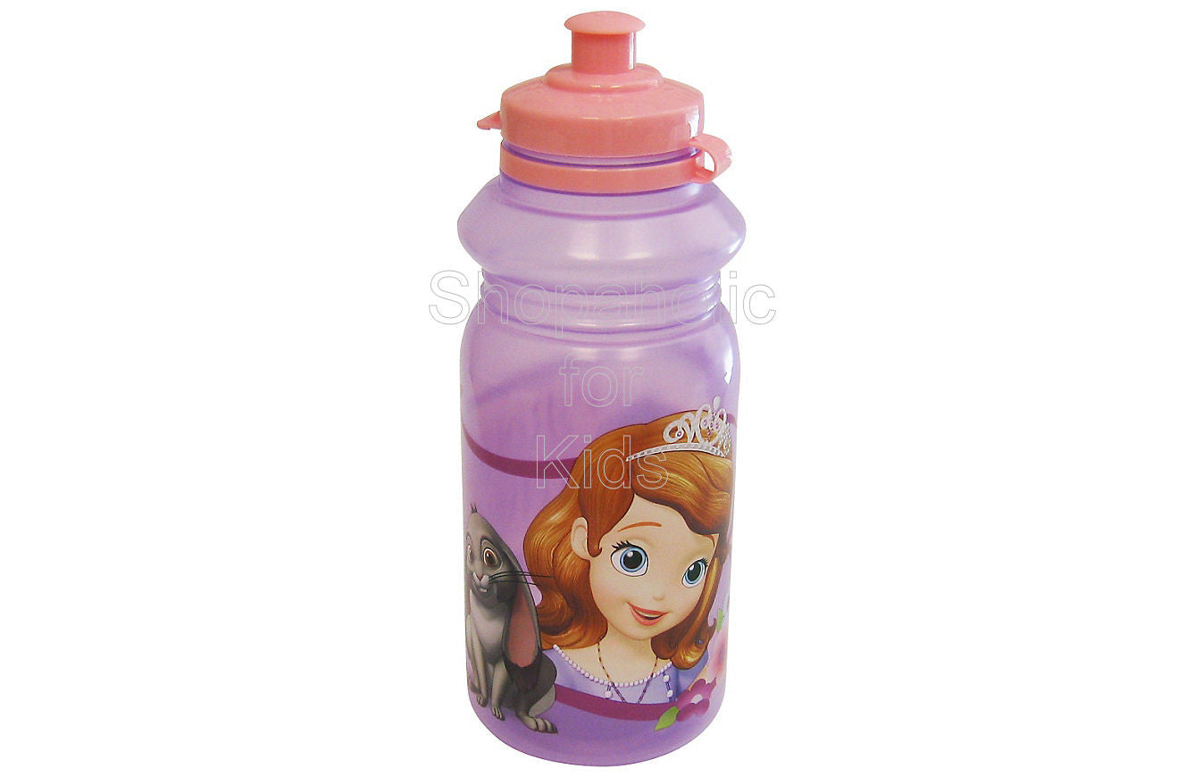 Sofia the First Water Bottle 18oz - Shopaholic for Kids