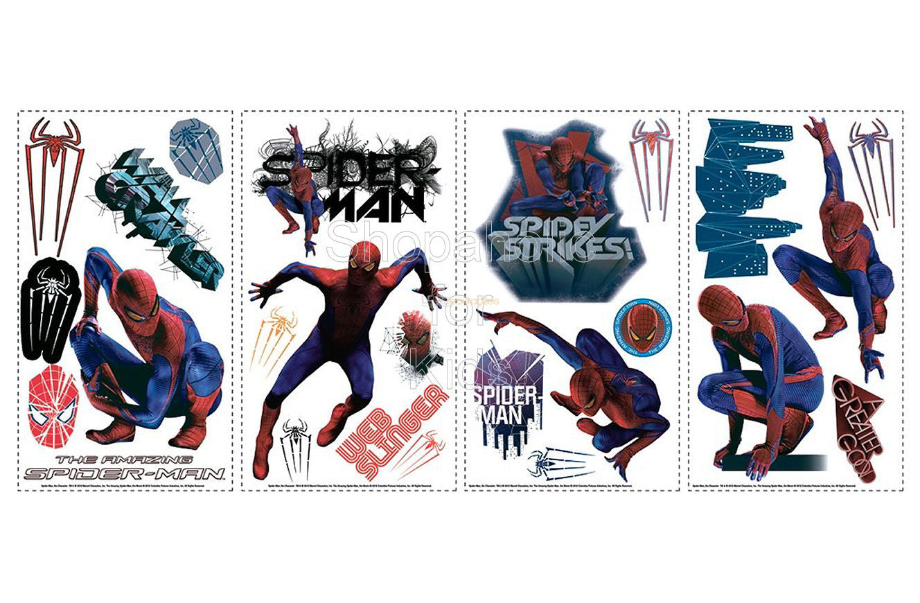 The Amazing Spider-Man Wall Decals/ Wall Sticker - Shopaholic for Kids