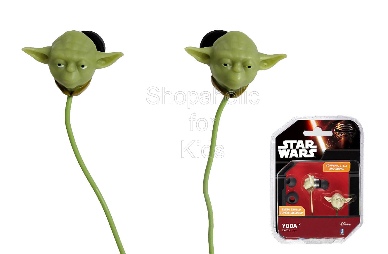 Star Wars Yoda Earbuds