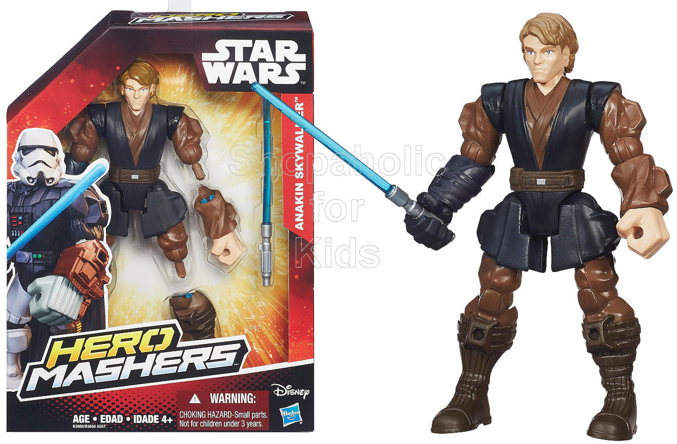 Star Wars Hero Mashers Episode III Anakin Skywalker - Shopaholic for Kids