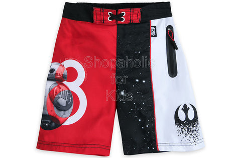 Star Wars The Last Jedi Swim Trunks for Boys
