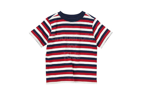 Crazy8 Stripe Tee Navy Stripe