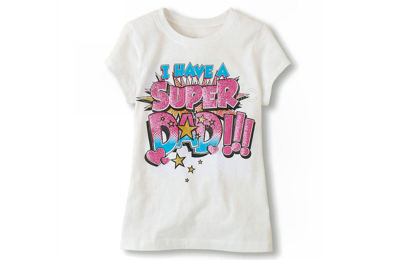 Children's Place Super Dad Graphic Tee - Shopaholic for Kids