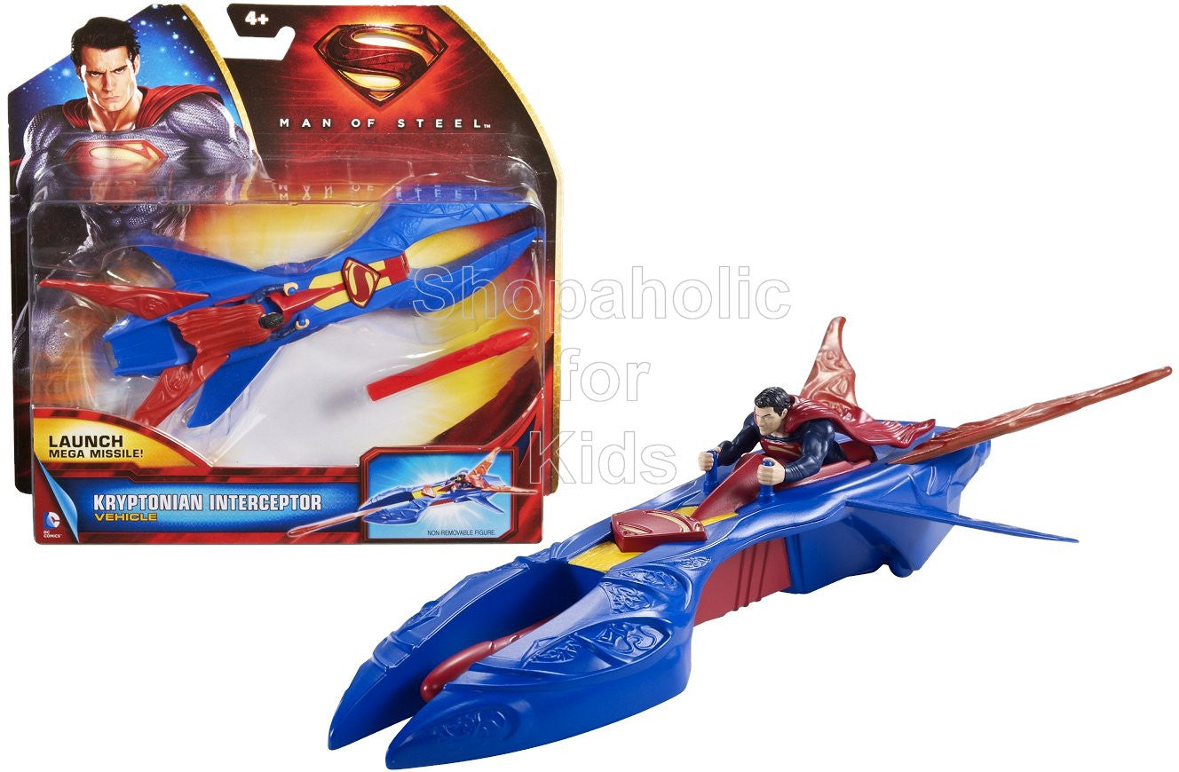 Superman Man of Steel Kryptonian Interceptor Vehicle