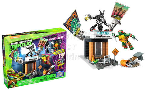 Mega Bloks Teenage Mutant Ninja Turtles Raph Rooftop Blast-Out